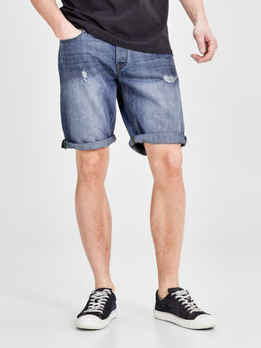 RICK ORIGINAL AM 301 SHORTS IN DENIM