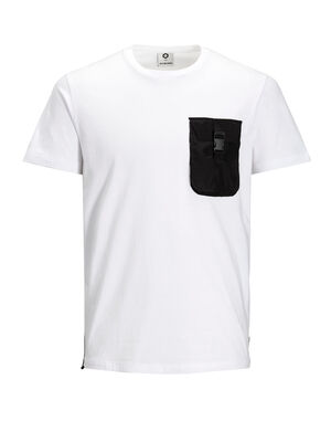 JACK & JONES Urbanes T-shirt Herren White | 5713743096579