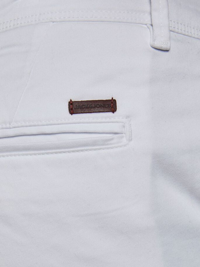 MARCO BOWIE SA CHINO, White, large