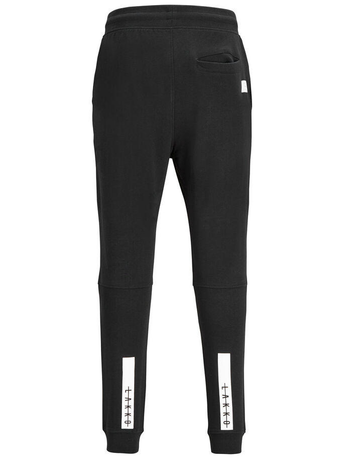 LAKKO SWEAT PANTS, Black, large