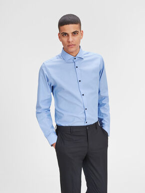 FORMEL SLIM FIT LONG SLEEVED SHIRT