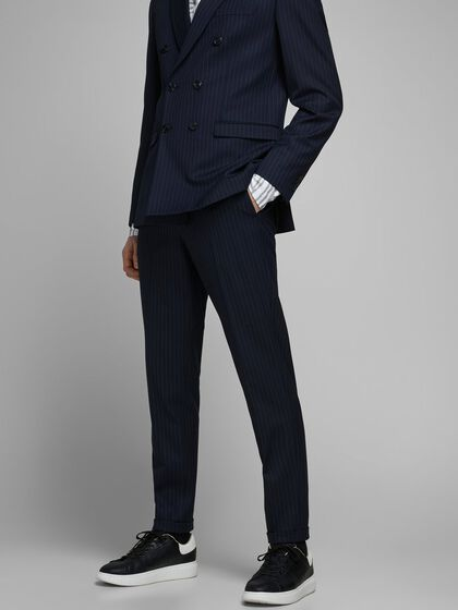 MARCO PHIL PINSTRIPED SUIT TROUSERS
