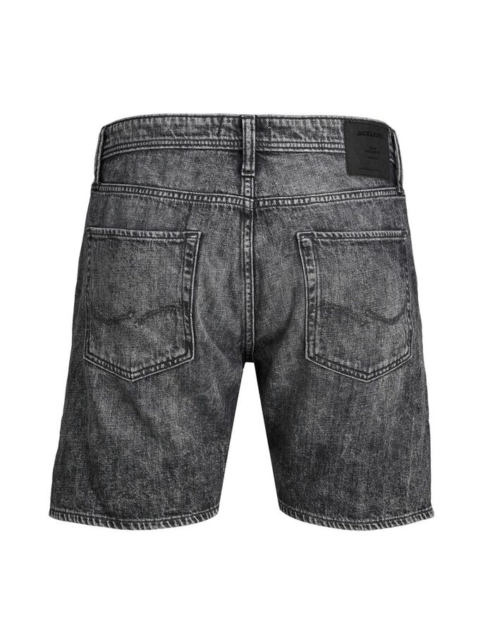 CHRIS ORIGINAL AM 243 SHORTS EN JEAN, Black Denim, large