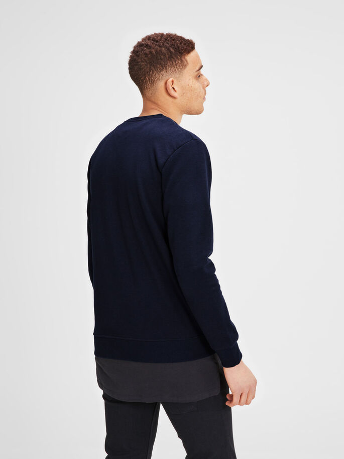 GRAFIK- SWEATSHIRT, Navy Blazer, large