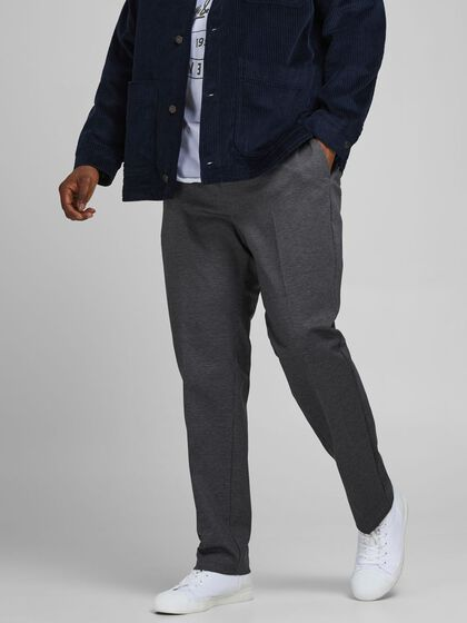 HAHNENTRITTMUSTER PLUS SIZE CHINOS