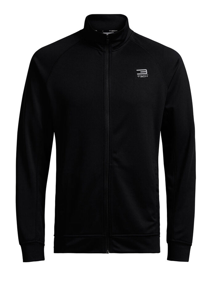 FUNKTIONELL SWEATSHIRT, Black, large
