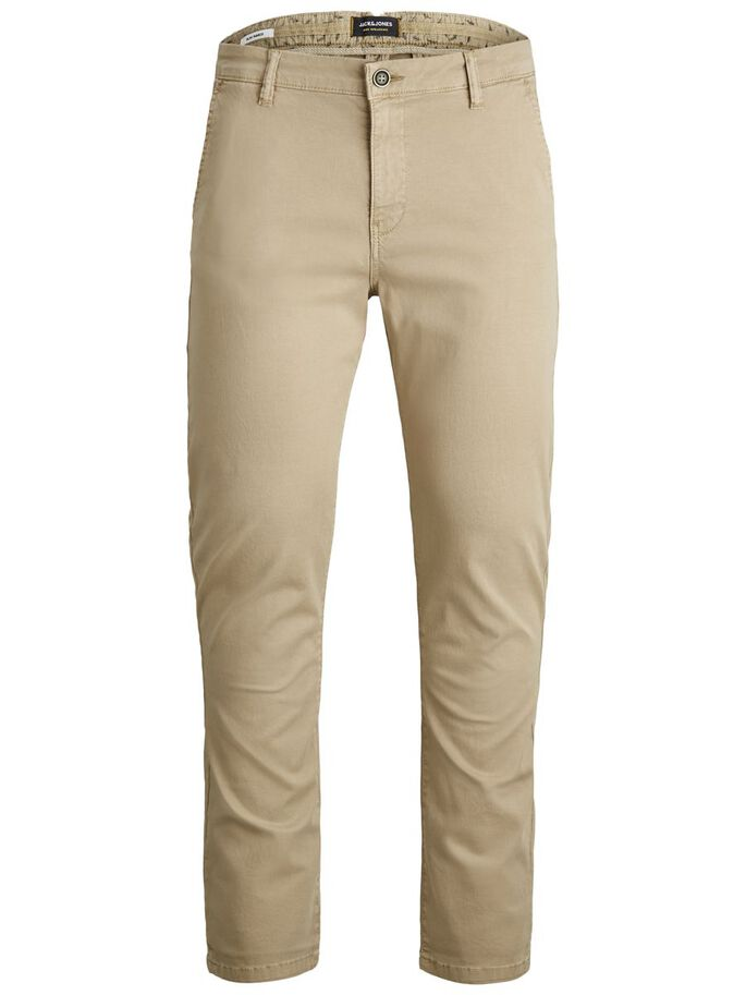 MARCO FRED AMA CHINOS, White Pepper, large
