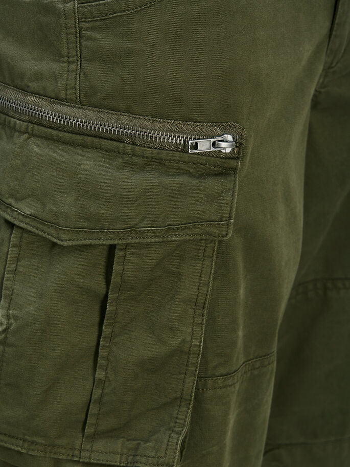 CHOP WW STS SHORT CARGO, Olive Night, large