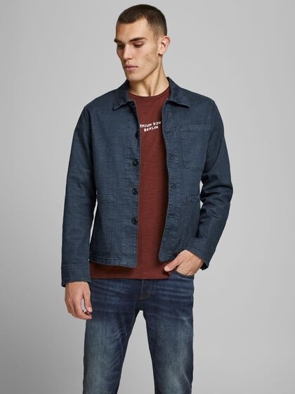LUCAS RECYCLED COTTON DENIM JACKET