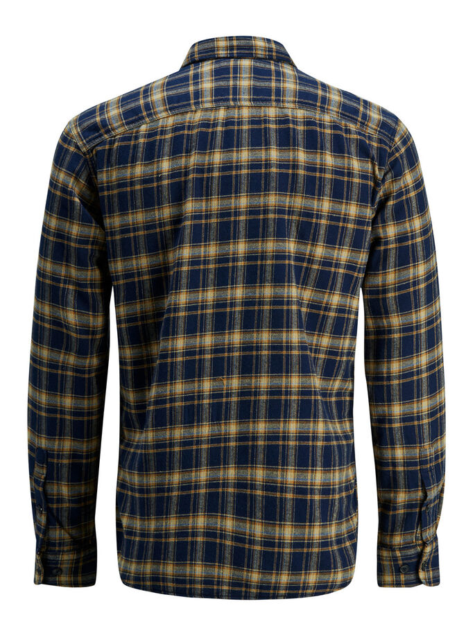 CASUAL LONG SLEEVED SHIRT, Ermine, large