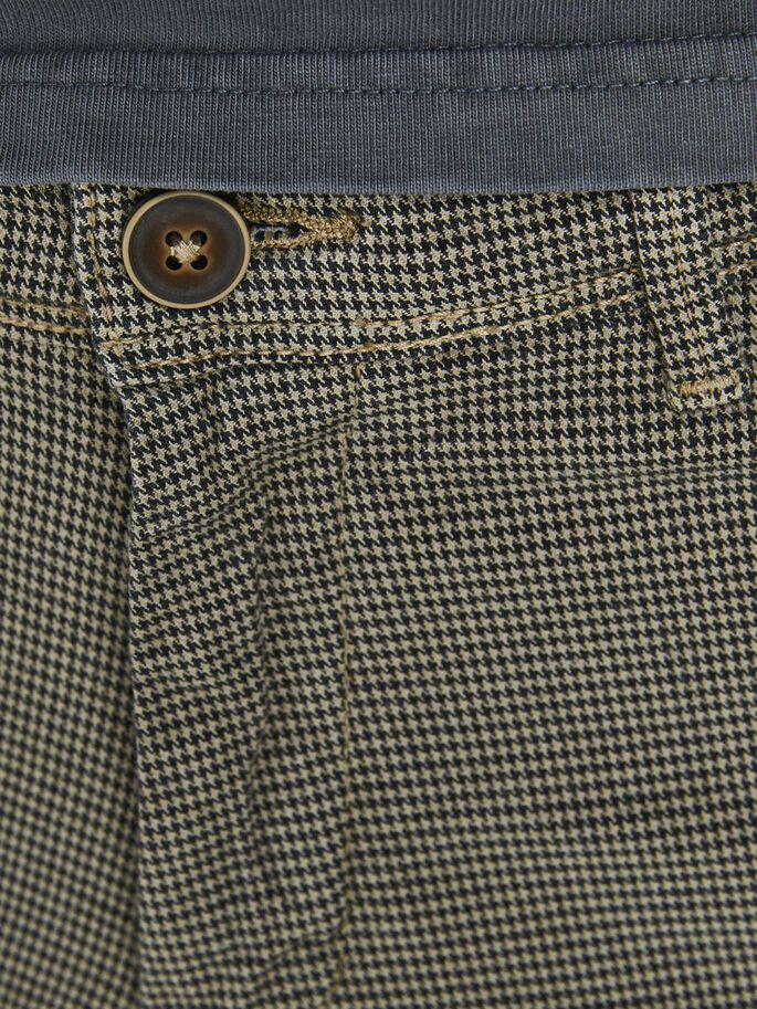 MARCO CHARLES HOUNDSTOOTH CHINOS, Crockery, large