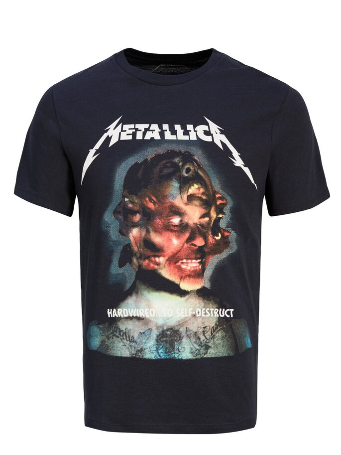 metallica t shirt jack jones. Black Bedroom Furniture Sets. Home Design Ideas
