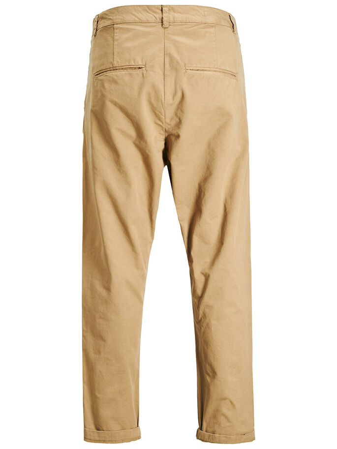 JEFF CROP TRENDY AKM KELP CHINOS, Kelp, large
