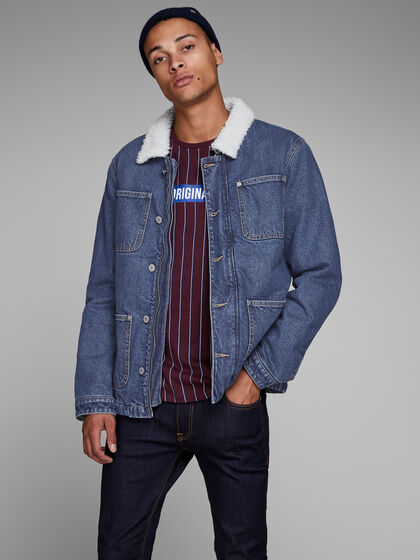 HANK JACKET CR 080 DENIM JACKET