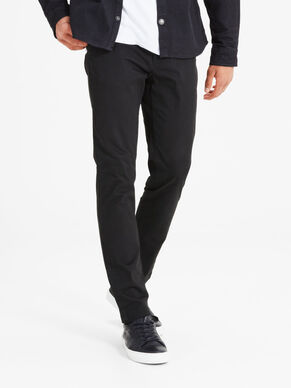 MARCO BLACK SLIM FIT CHINO