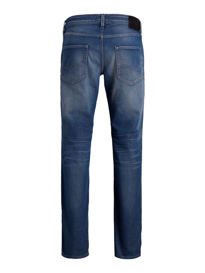 CLARK ICON BL 943 REGULAR FIT JEANS, Blue Denim, large