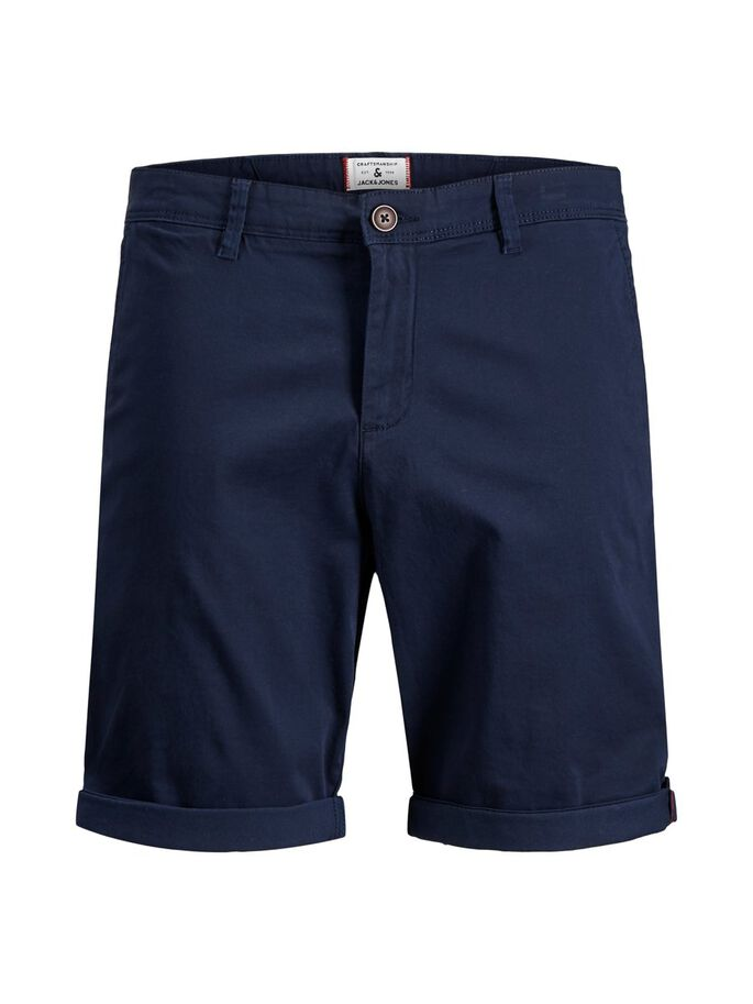 BOWIE SOLID CHINO SHORT, Navy Blazer, large