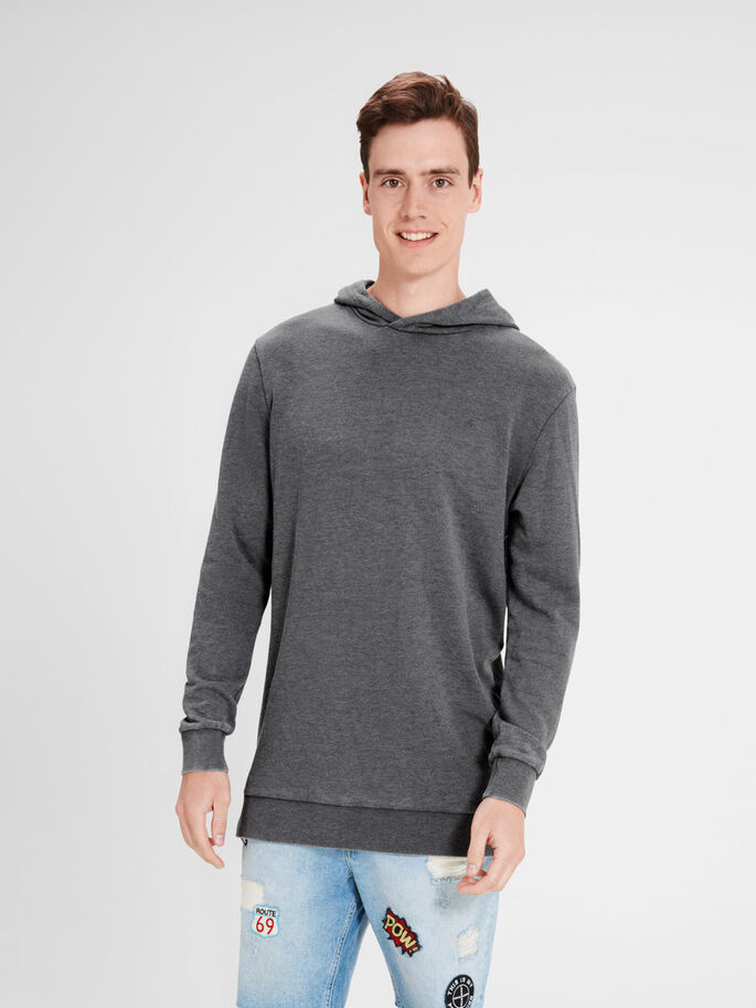 LÄSSIGES SWEATSHIRT, Asphalt, large