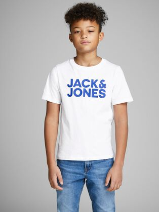 26dfcfb58f2 T-shirts voor Jongens in Wit, Rood, & Meer | JACK & JONES JUNIOR