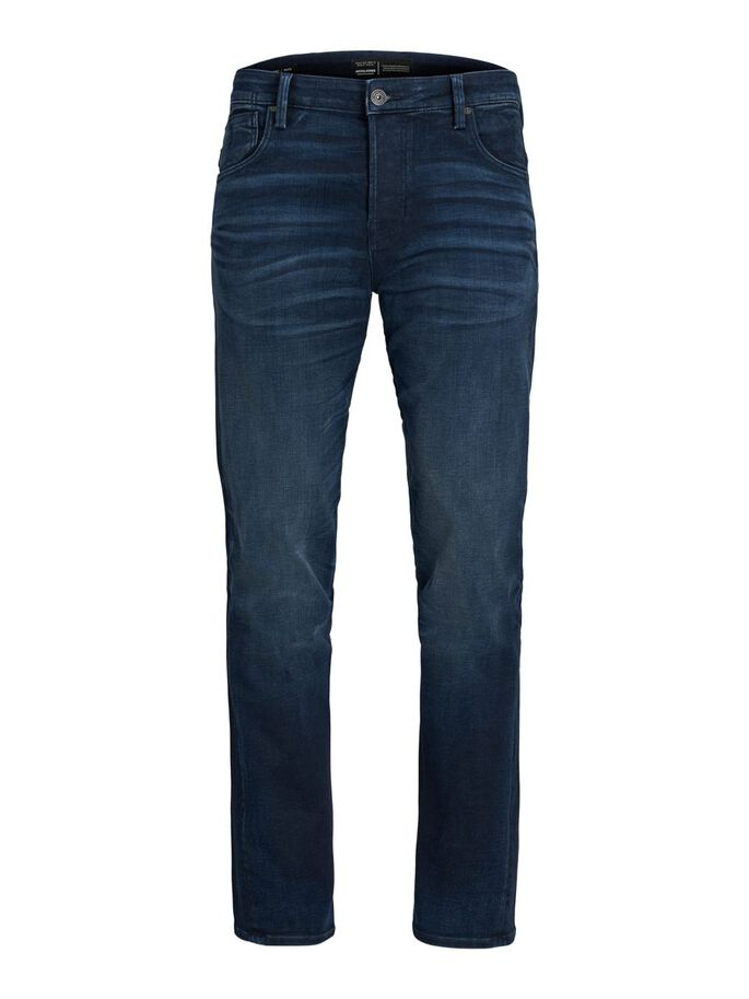 MIKE RON JOS 350 COMFORT FIT JEANS, Blue Denim, large