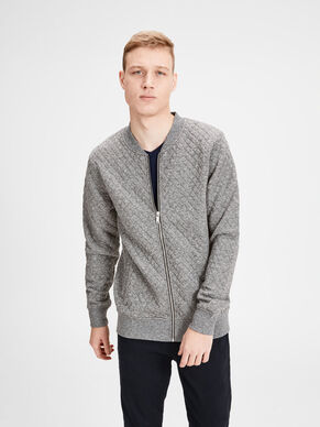 QUILTED SWEATSHIRT