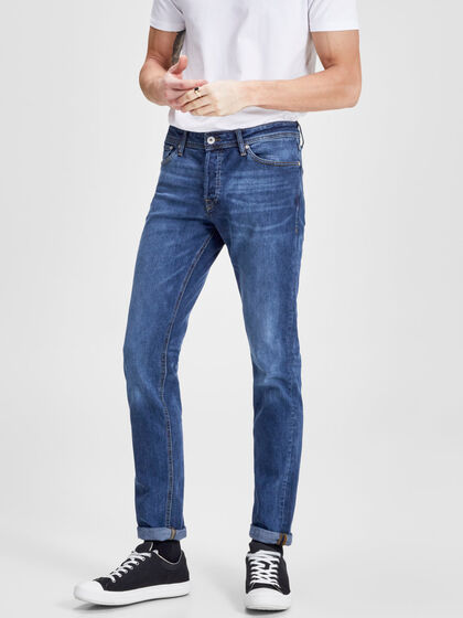 TIM ORIGINAL AM 653 LID JEANS À COUPE SLIM/STRAIGHT