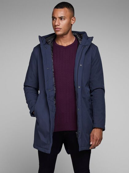 JACK /& JONES Male Parka Wasserabweisender
