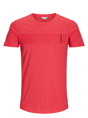CON STAMPA IN GOMMA T-SHIRT