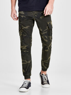 PAUL WARNER AKM 280 CAMO CARGO BROEK