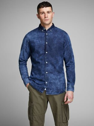 dfd89b44bb MINIMALIST DENIM SHIRT