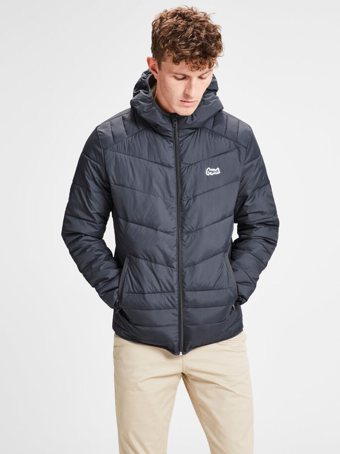 c2f91130b1a25b Hooded puffer jacket