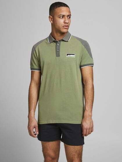 SLIM FIT KONTRAST POLO