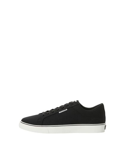 LOGO CANVAS SNEAKERS