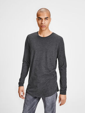 SOLID LONG-SLEEVED T-SHIRT