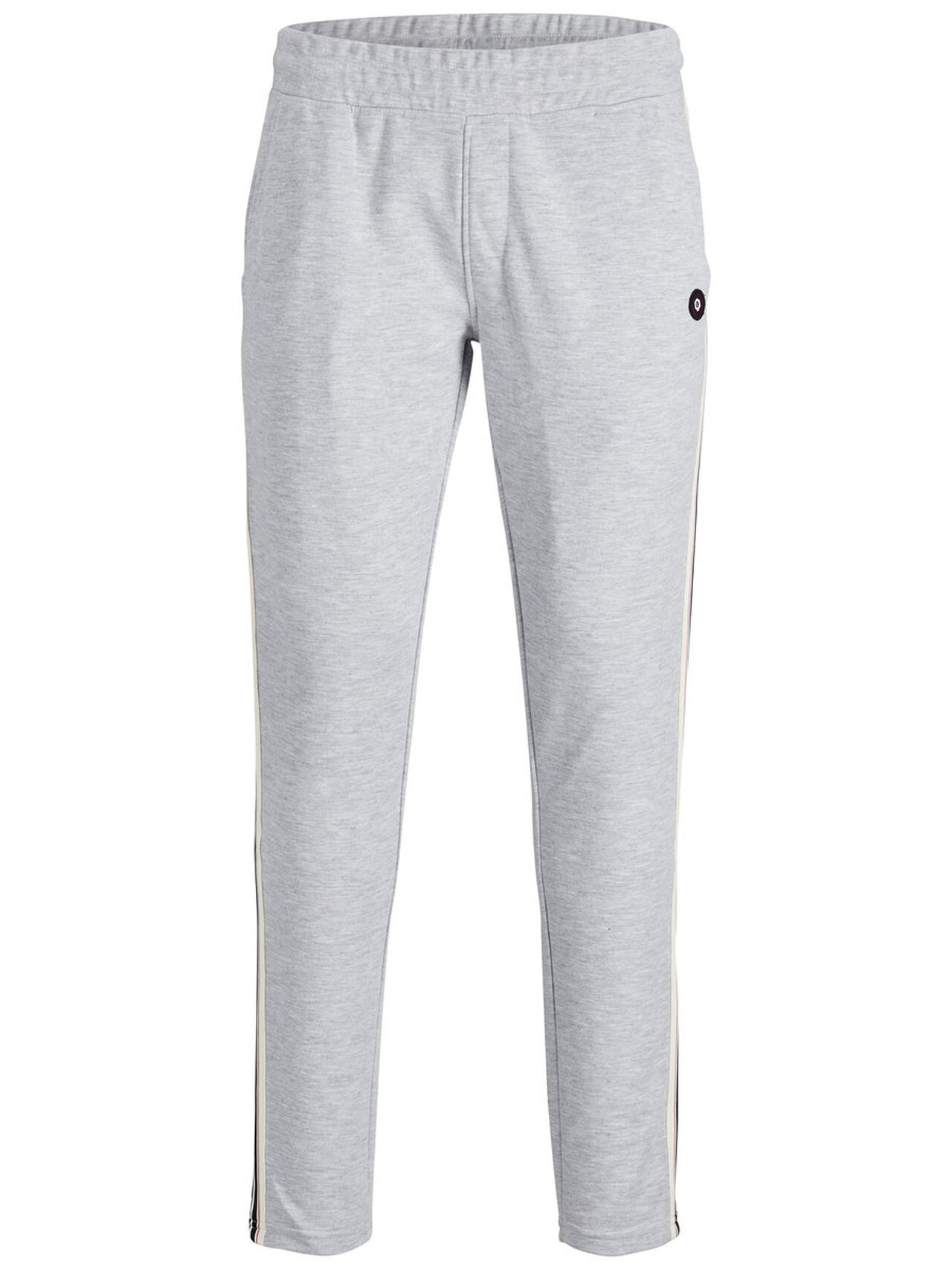 JACK & JONES Side Striped Sweat Pants Men Grey