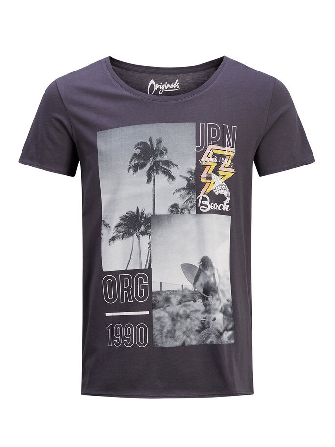 GRAPHIC T-SHIRT, Asphalt, large