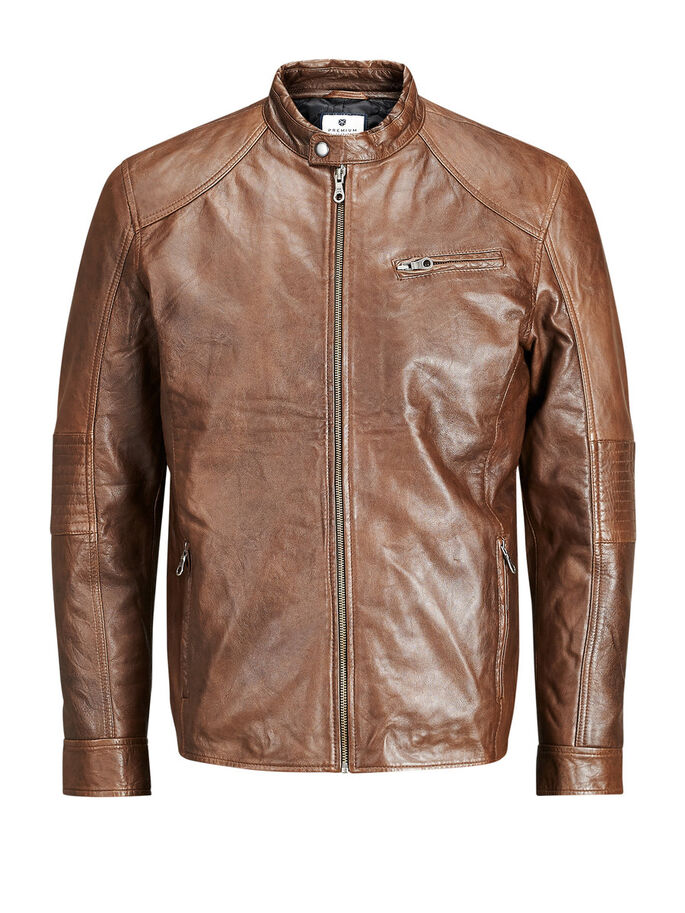 ON-TREND JACKET, Bone Brown, large
