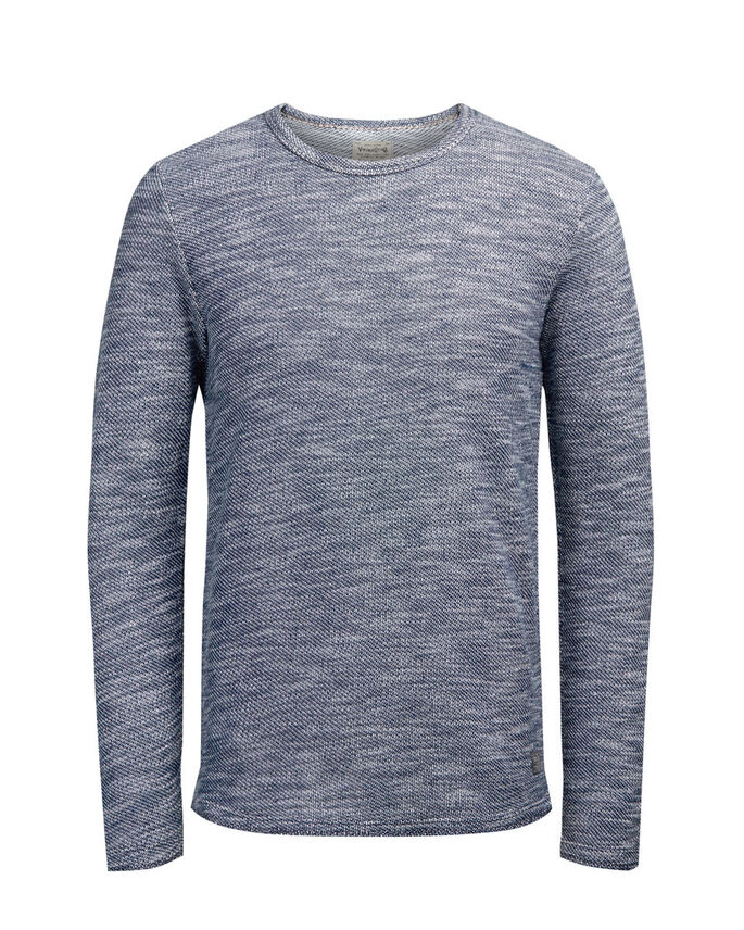 REJÄL SWEATSHIRT, Mood Indigo, large