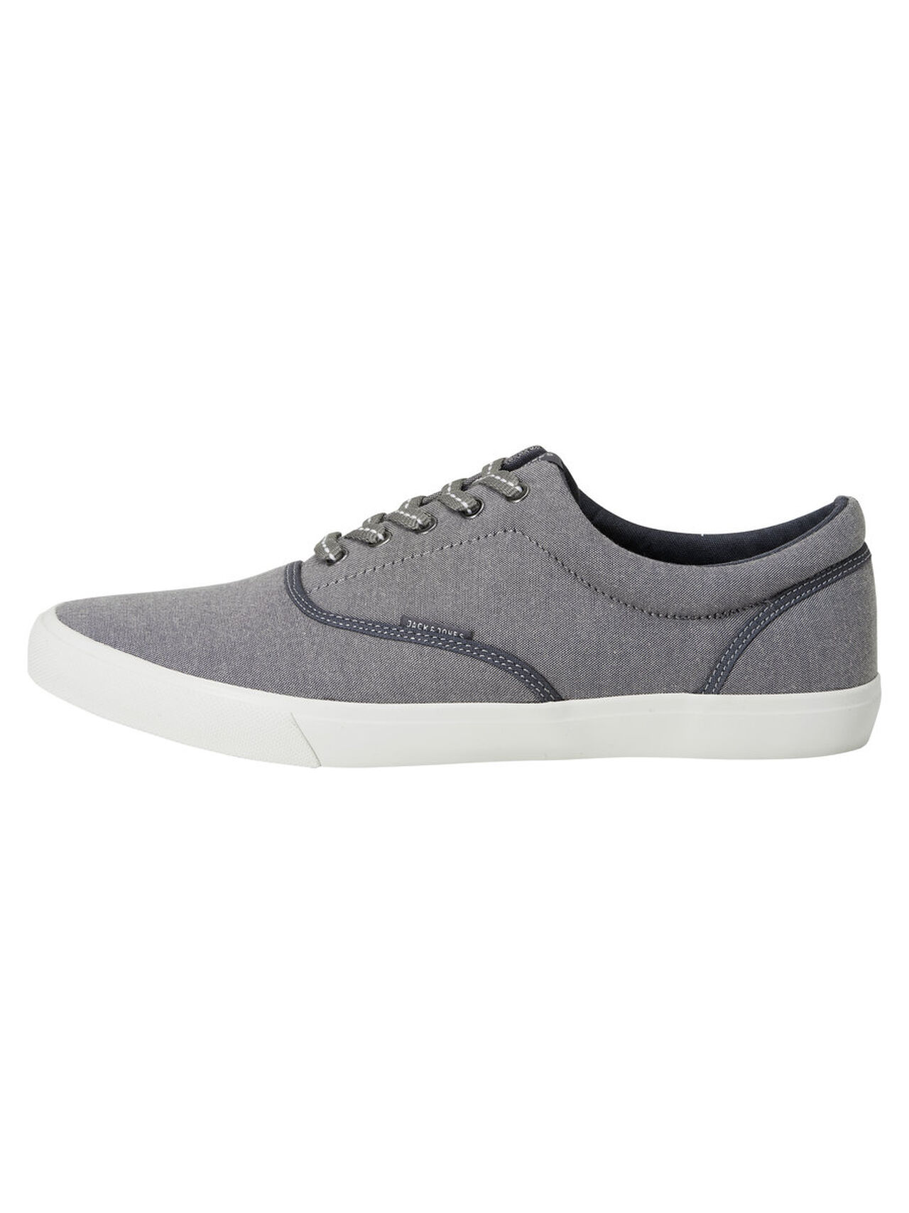 JACK & JONES Casual Sneakers Heren Grijs thumbnail