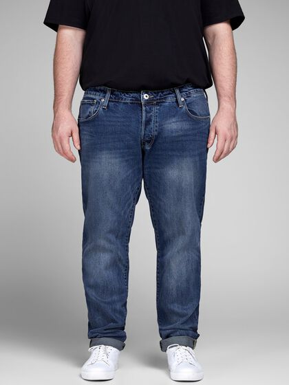 GLENN CON CR 001 PS PLUS SIZE SLIM FIT JEANS