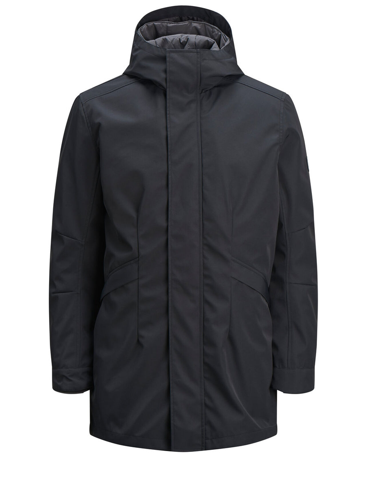Image of JACK & JONES 2-i-1 Parka Mænd Sort (22698845255)
