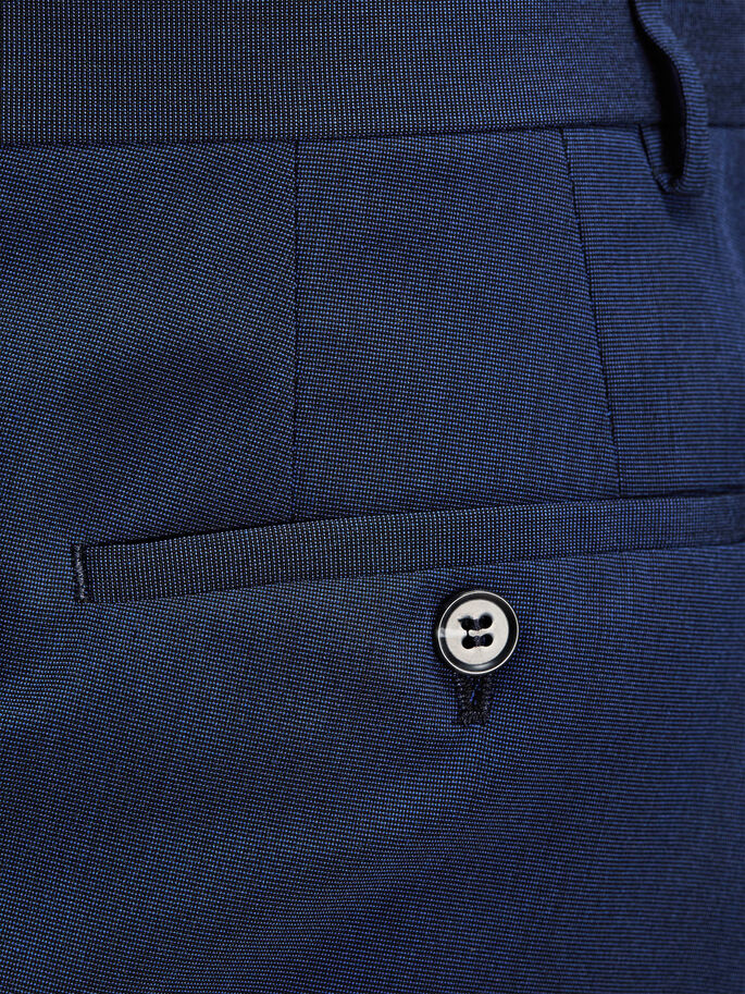 STRUCTURÉ PANTALON DE COSTUME, Blue Depths, large