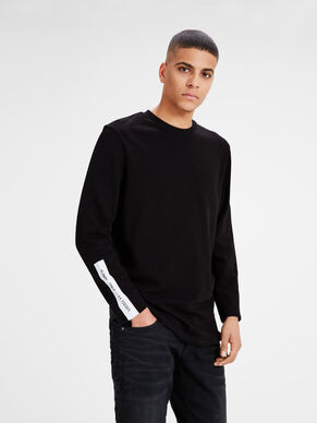 PRINTET REGULAR FIT CREW NECK SWEATSHIRT
