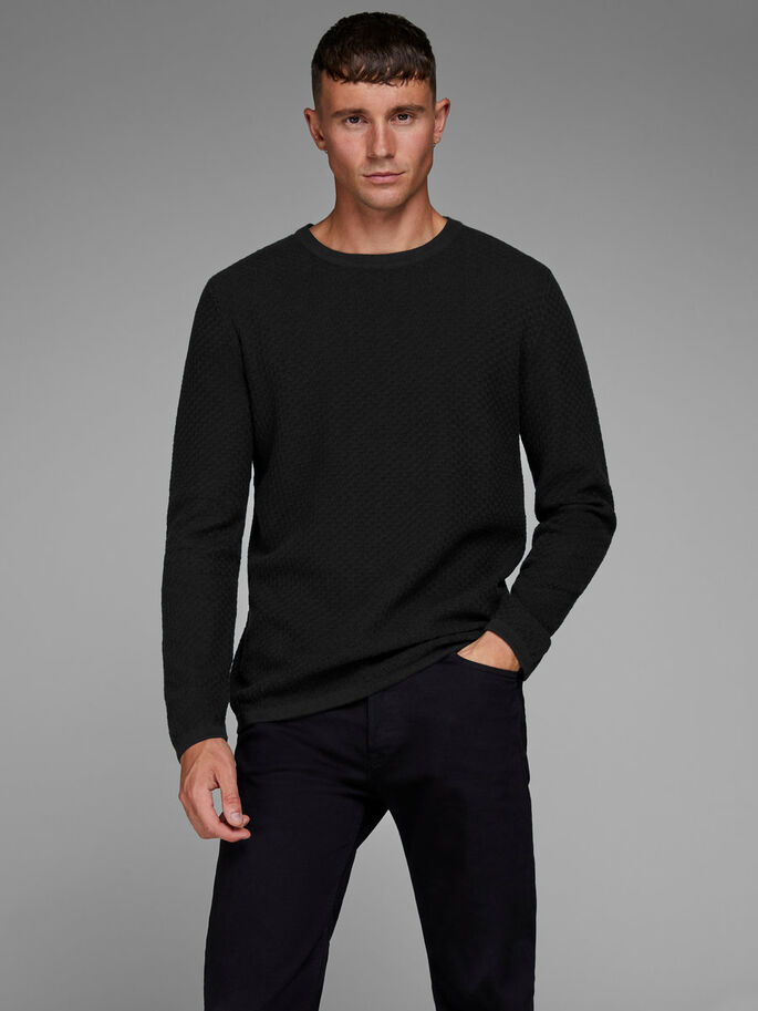90528eb5251d58 Slim fit knitted pullover