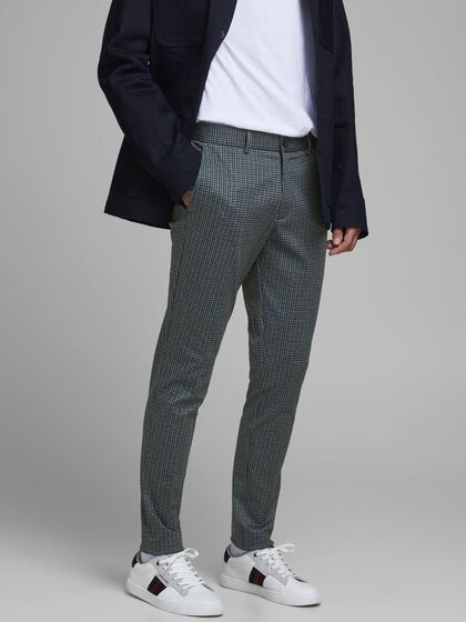 MARCO PHIL HOUNDSTOOTH SUIT TROUSERS