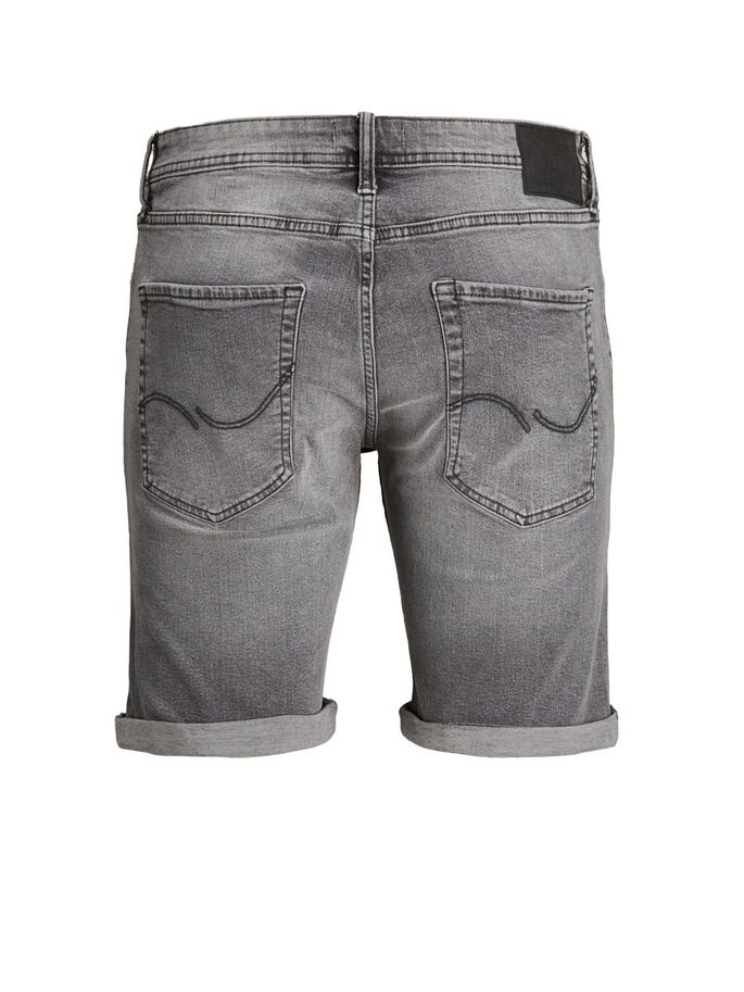 GARÇONS RICK ORIGINAL SHORTS EN JEAN, Grey Denim, large