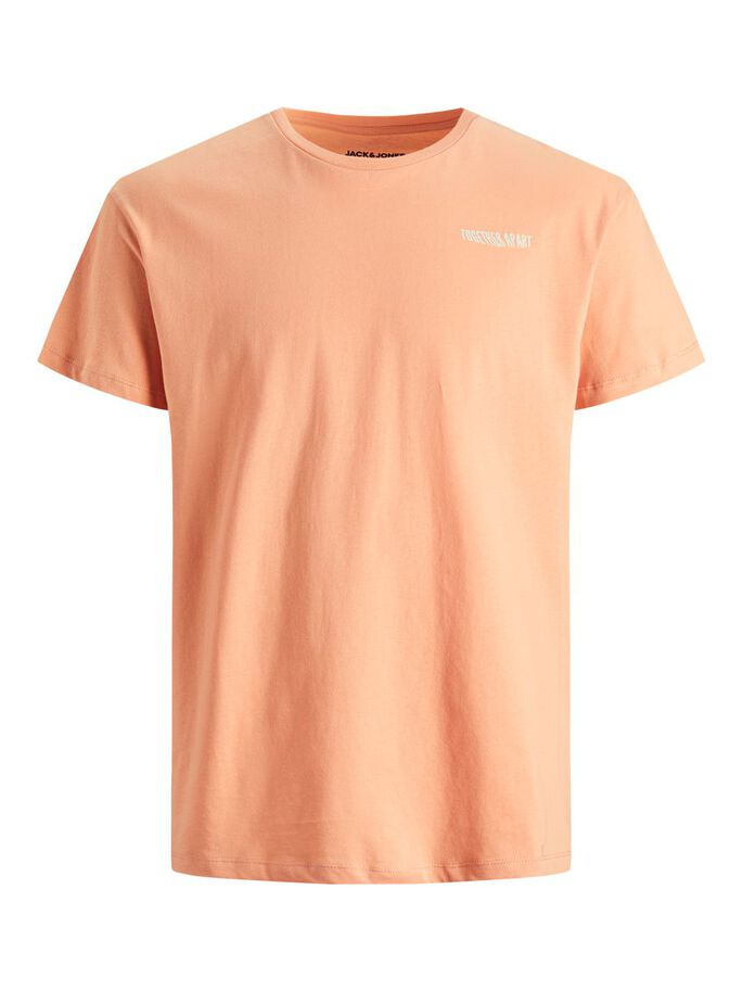 STATEMENT T-SHIRT, Shell Coral, large