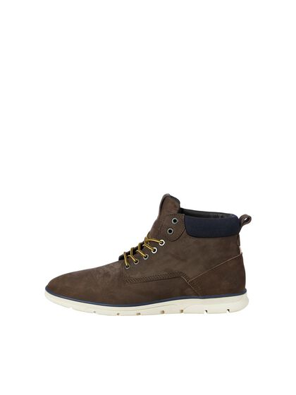 NUBUCK LEATHER BOOTS
