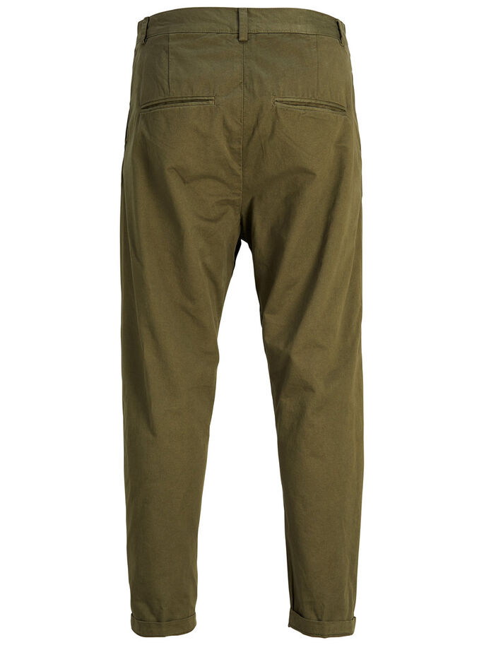 JEFF CROP TRENDY AKM CHINOS, Olive Night, large