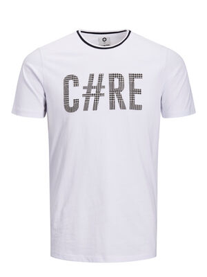 JACK & JONES Artwork T-shirt Herren White | 5713747635668